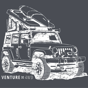Venture 4WD Jeep T-Shirt