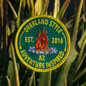 Overland Style Campfire Patch (Limited Edition)