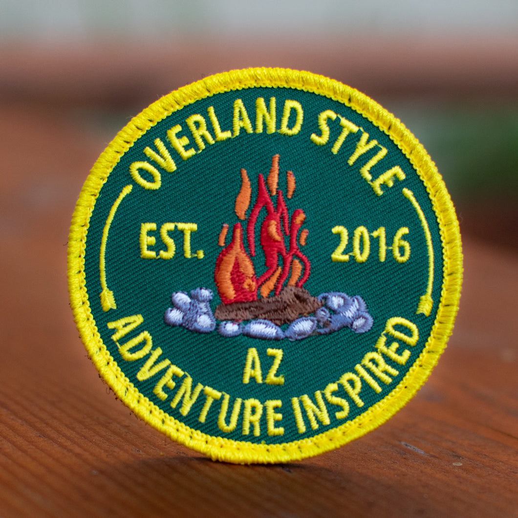 Limited Edition, Premium Campfire Patch by Overland Style