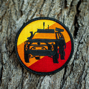 Overland Style 4Runner Patch (Retro Series V1)