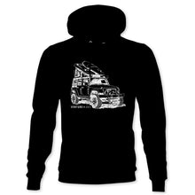 Load image into Gallery viewer, Venture 4WD Distressed Jeep Hoodie