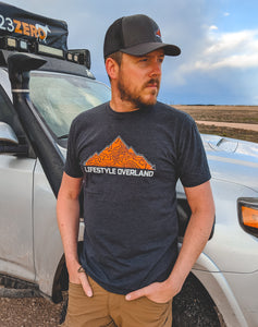 Men's GPS T-shirt by Lifestyle Overland