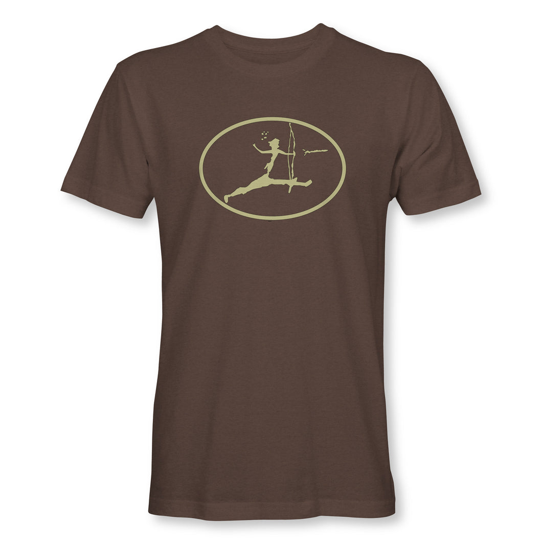 Primal Outdoors Archer T-shirt in Espresso