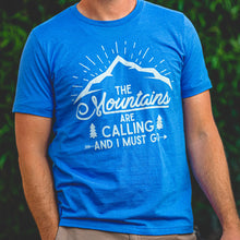 Load image into Gallery viewer, The Mountains are Calling T-shirt by Overland Style