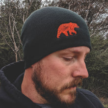 Load image into Gallery viewer, Lifestyle Overland Topo Bear Beanie