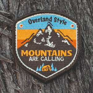 Limited Edition, Premium Mountains are Calling Patch by Overland Style