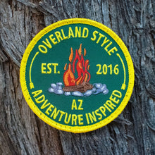 Load image into Gallery viewer, Overland Style Campfire Patch (Limited Edition)