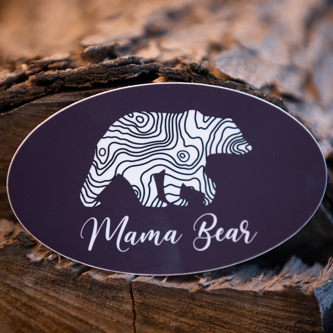 Lifestyle Overland Mama Bear Sticker