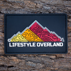 Lifestyle Overland PVC Retro GPS Patch (Premium)