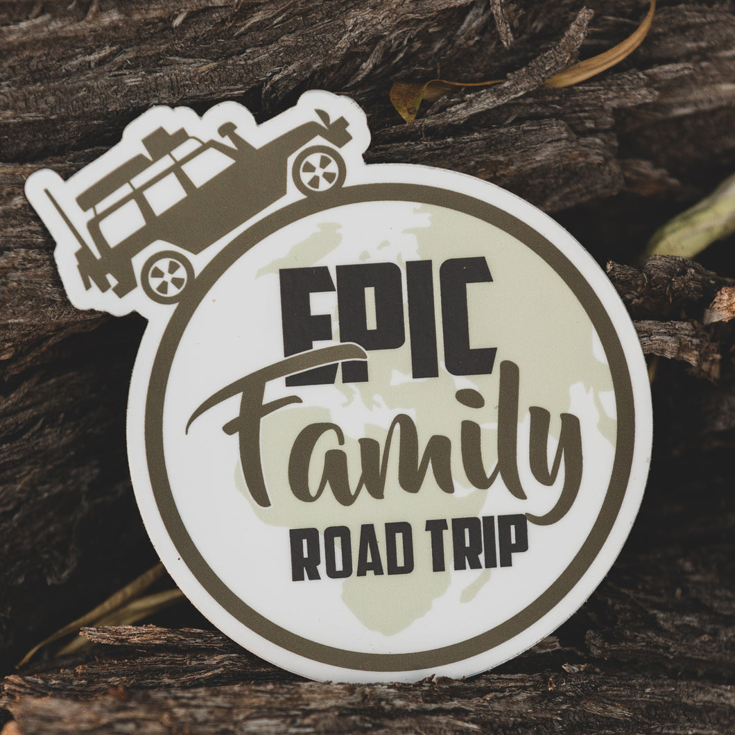 Epic Family Road Trip Sticker