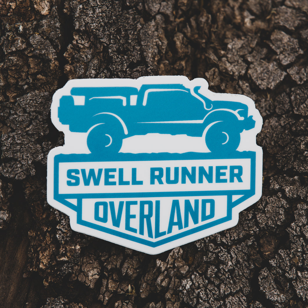 Swellrunner Overland Sticker