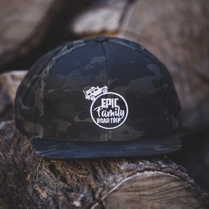 Epic Family Road Trip Multicam Snap-Back Hat
