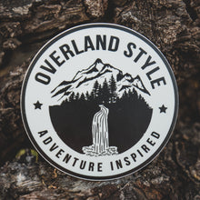 Load image into Gallery viewer, Overland Style Adventure Inspired Waterfall Sticker