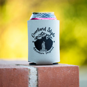 Overland Style Adventure Inspired Waterfall Koozie