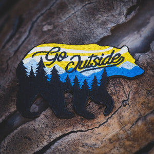 Go Outside Bear Patch (Limited Edition)