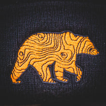 Load image into Gallery viewer, New Lifestyle Overland Topo Bear Beanie V2