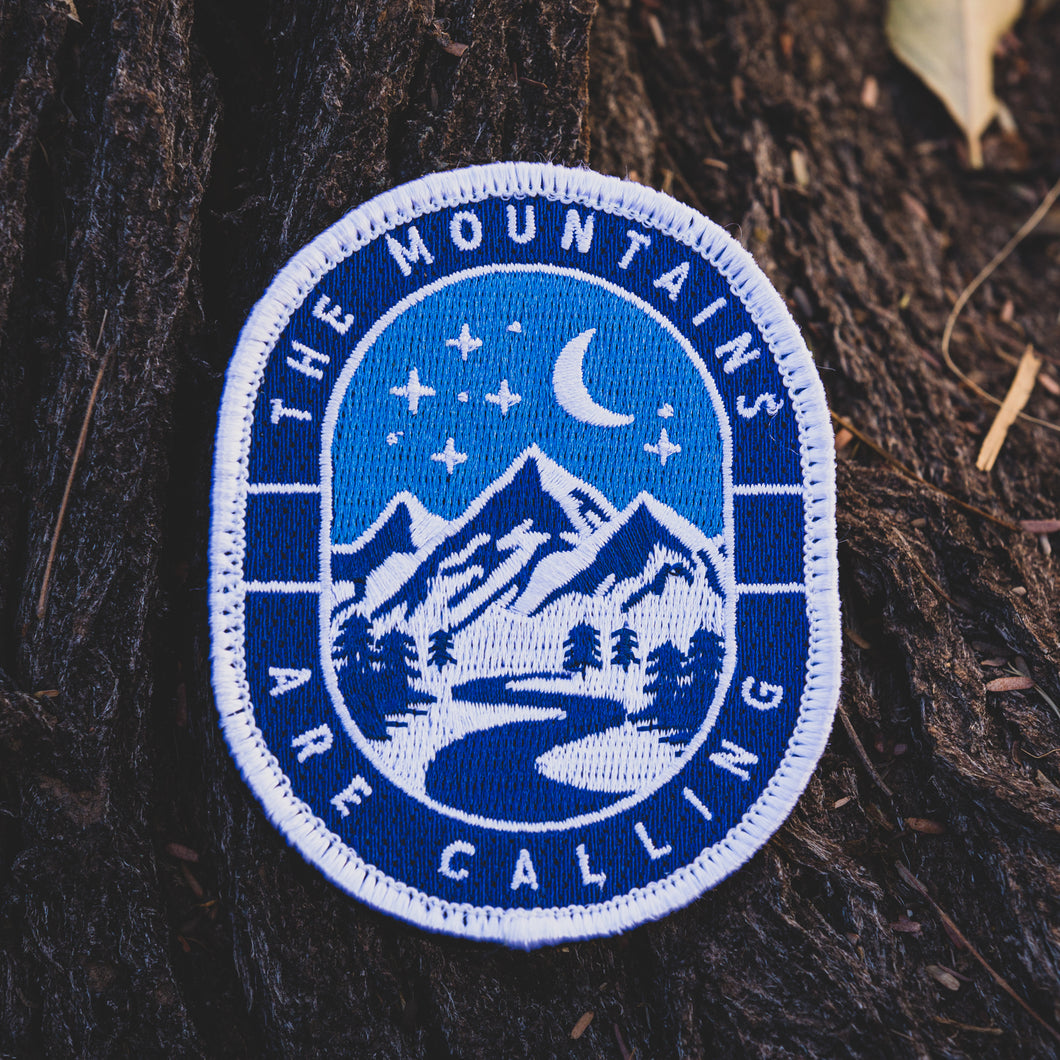 Winter Mountains Are Calling Patch (Limited Edition)