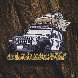 Epic Family Road Trip Worsley Jeep Patch (Limited Edition)