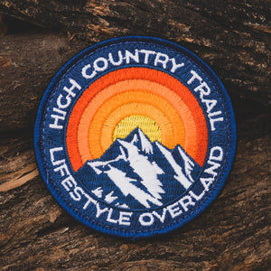 Lifestyle Overland High Country Trail Patch