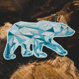 Poly Polar Bear Patch (Limited Edition)