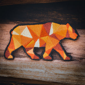 Orange Poly Bear Patch (Limited Edition)