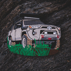 "Lifestyle Overland 4Runner ""Silver"" Patch (Limited Edition)"