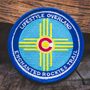 Lifestyle Overland Enchanted Rockies Trail Patch