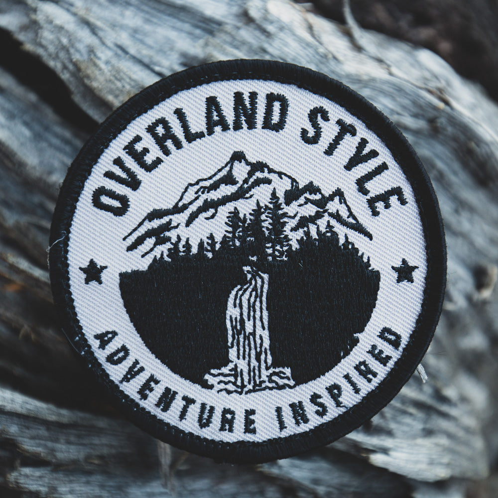 Overland Style Adventure Inspired Waterfall Patch