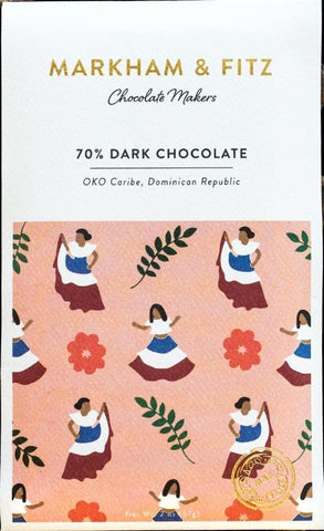 Oko Caribe, Dominican Republic 70% - Cococlectic: A Craft Bean-to-Bar Club featuring different American craft chocolate makers each month