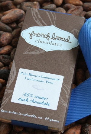66% Palo Blanco Community, Chulucanas, Peru - Cococlectic: A Craft Bean-to-Bar Club featuring different American craft chocolate makers each month