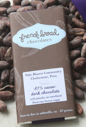 81% Palo Blanco Community Chulucanas - Cococlectic: A Craft Bean-to-Bar Club featuring different American craft chocolate makers each month