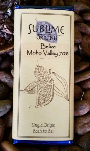 Belize (Moho Valley) 70% - Cococlectic: A Craft Bean-to-Bar Club