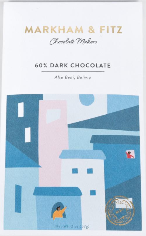 Alto Beni, Bolivia 60% - Cococlectic: A Craft Bean-to-Bar Club featuring different American craft chocolate makers each month