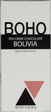 70% Bolivia - Cococlectic: A Craft Bean-to-Bar Club featuring different American craft chocolate makers each month