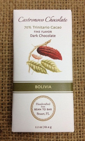 Bolivia - 70% Trinitario - Cococlectic: A Craft Bean-to-Bar Club featuring different American craft chocolate makers each month