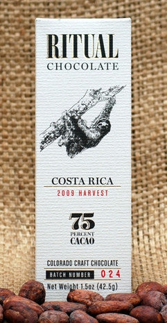 Costa Rica, 2009 Harvest - Cococlectic: A Craft Bean-to-Bar Club featuring different American craft chocolate makers each month