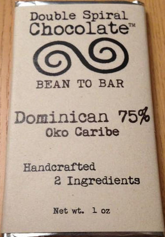 Dominican Republic Oko Caribe 75% - Cococlectic: A Craft Bean-to-Bar Club