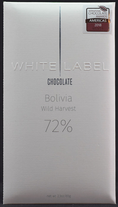 72% Bolivia, Wild Harvest 2017 - Cococlectic: A Craft Bean-to-Bar Club featuring different American craft chocolate makers each month