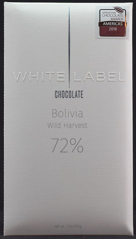 72% Bolivia, Wild Harvest 2017 - Cococlectic: A Craft Bean-to-Bar Club