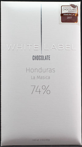 74% Honduras, La Masica 2015 Harvest - Cococlectic: A Craft Bean-to-Bar Club featuring different American craft chocolate makers each month