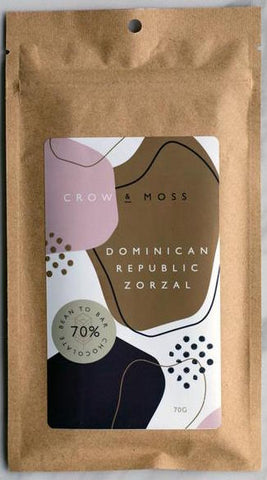 Stone Grindz Chocolate: Dominican Republic Zorzal 70%
