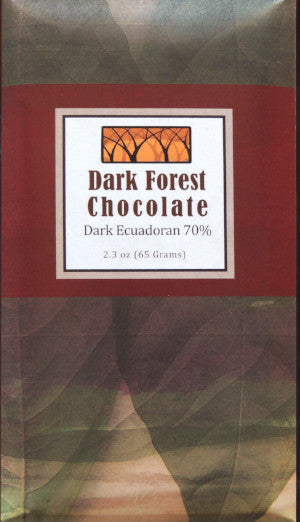 Dark Ecuadorian 70% - Cococlectic: A Craft Bean-to-Bar Club