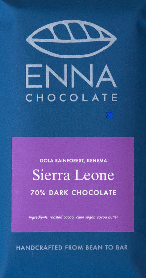 Sierra Leone Gola Rainforest 70% - Cococlectic: A Craft Bean-to-Bar Club