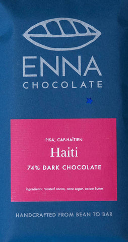 Haiti PISA 74% - Cococlectic: A Craft Bean-to-Bar Club featuring different American craft chocolate makers each month