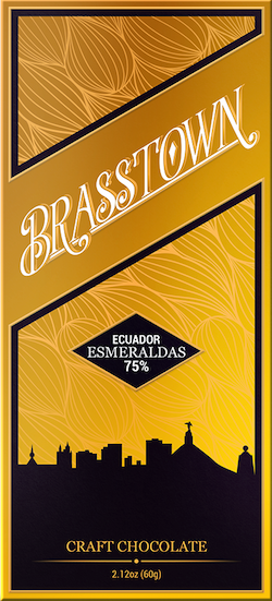 75% Costa Esmeraldas, Ecuador - Cococlectic: A Craft Bean-to-Bar Club featuring different American craft chocolate makers each month