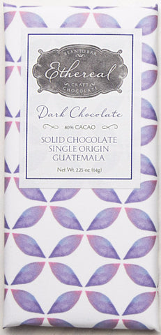 80% Guatemala - Cococlectic: A Craft Bean-to-Bar Club featuring different American craft chocolate makers each month