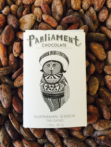 70% Guatemala: Q'eqchi - Cococlectic: A Craft Bean-to-Bar Club featuring different American craft chocolate makers each month