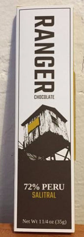 72% Salitral, Peru - Cococlectic: A Craft Bean-to-Bar Club featuring different American craft chocolate makers each month