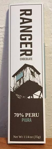 70% Piura, Peru - Cococlectic: A Craft Bean-to-Bar Club featuring different American craft chocolate makers each month