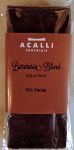 Barataria Blend 81% - Cococlectic: A Craft Bean-to-Bar Club featuring different American craft chocolate makers each month